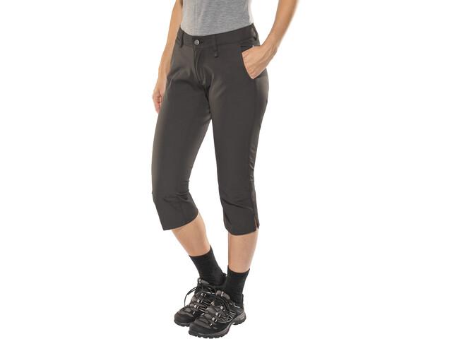 Fjällräven Abisko Capri-housut Naiset, dark grey